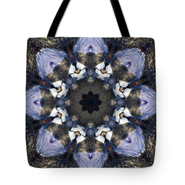 Reflection - Kaleidoscope Art Tote Bag