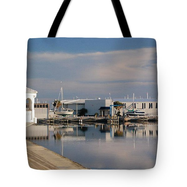 Tote Bag featuring the photograph Reflection by Leticia Latocki