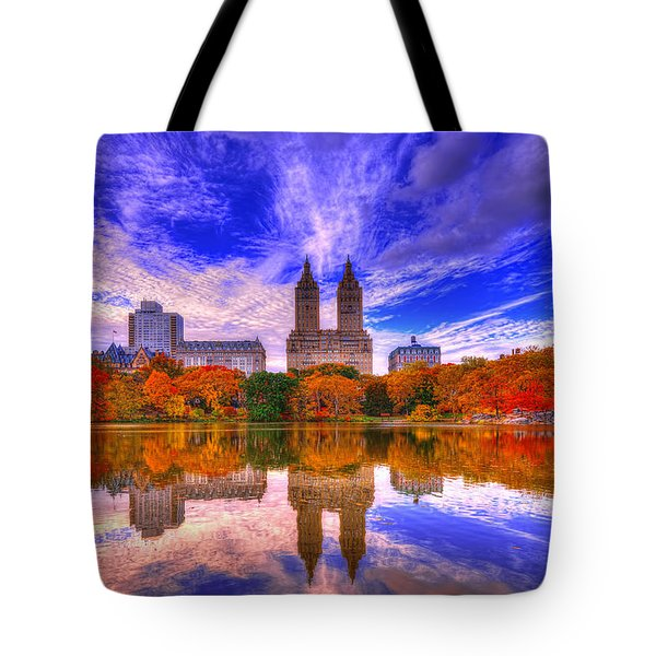 Reflection Of City Tote Bag