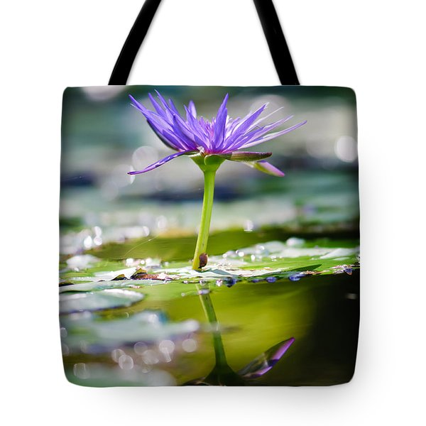 Reflection Of Life Tote Bag by Charles Dobbs