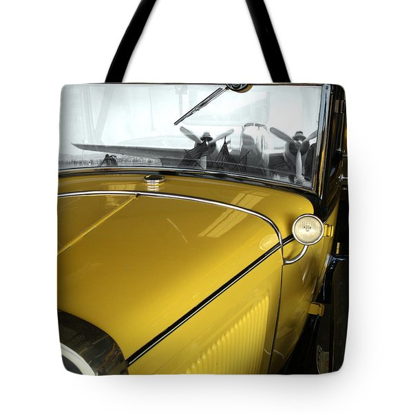 Reflection Of The Past Tote Bag by Bill Gallagher