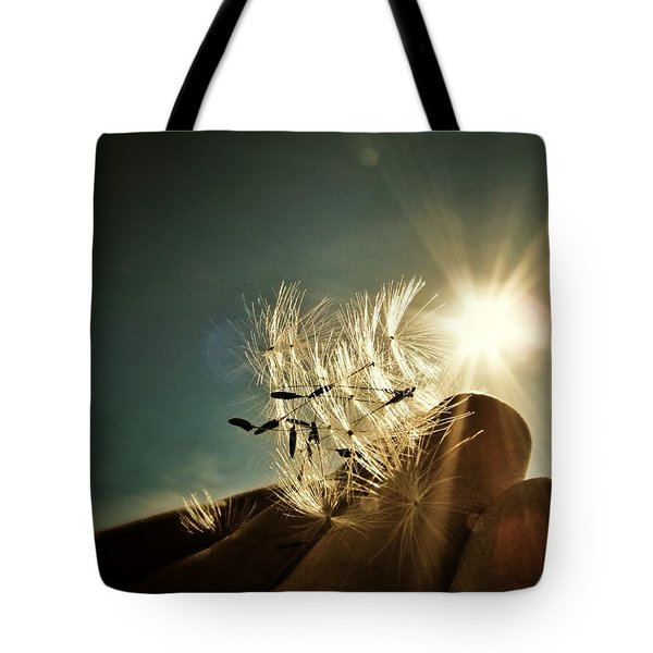 Reflection Of The Sun Tote Bag by Marianna Mills