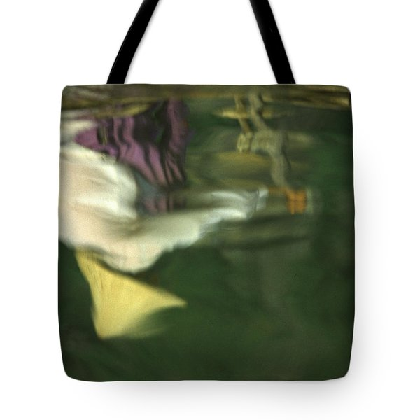 Reflection Of Women In Mekong Tote Bag