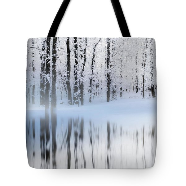 Reflection On A Dream Collingwood, On Tote Bag by Andrea Kollo