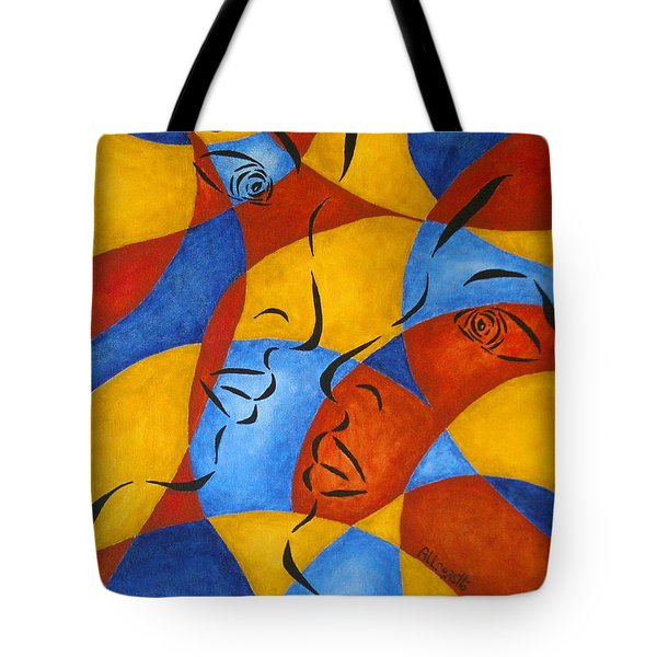 Reflection Tote Bag by Pamela Allegretto