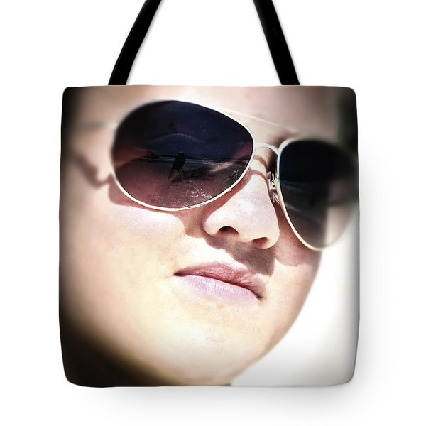 Tote Bag featuring the photograph Reflection by Pennie  McCracken