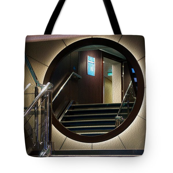 Reflection Stair Tote Bag