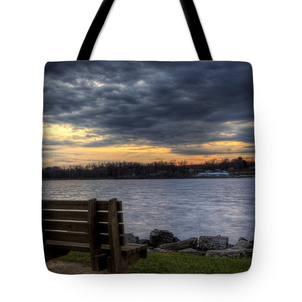 Reflection Time Tote Bag