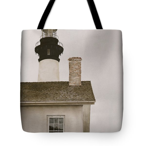 Reflections At Bodie Light Tote Bag