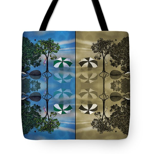 Reflections Tote Bag by Betsy Knapp