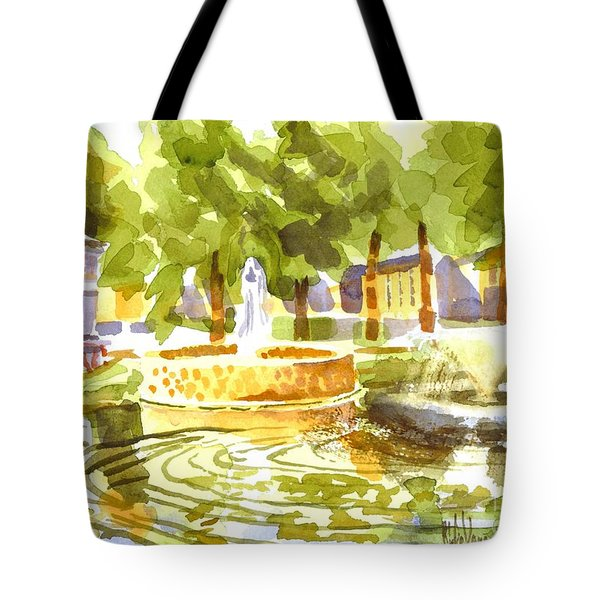Reflections Tote Bag by Kip DeVore