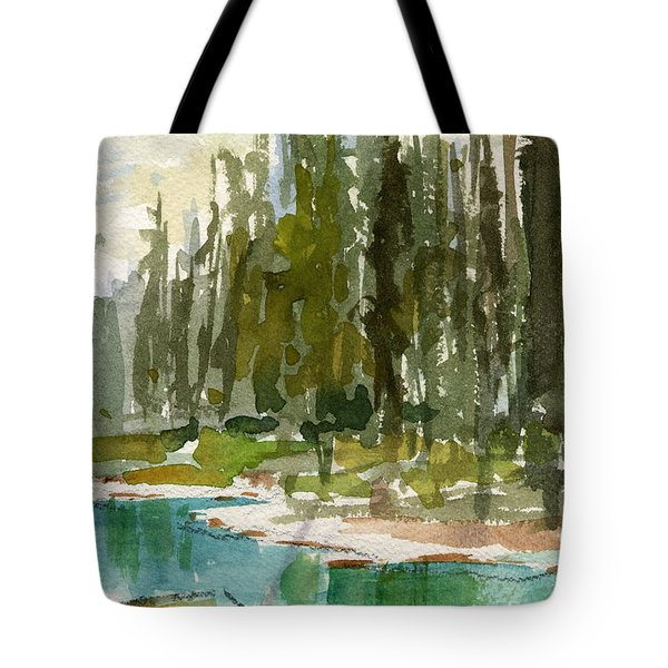 Reflections Tote Bag by Mohamed Hirji