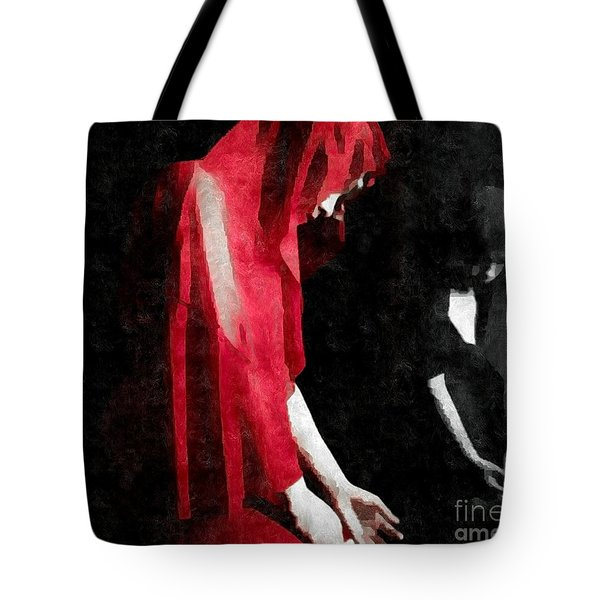 Reflections Of A Broken Heart Tote Bag by Jessica Shelton