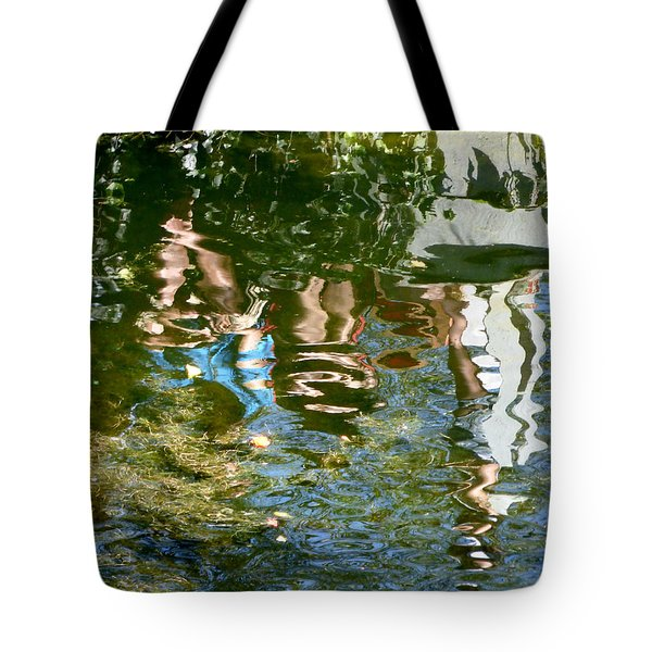 Reflections Of A Parade Tote Bag