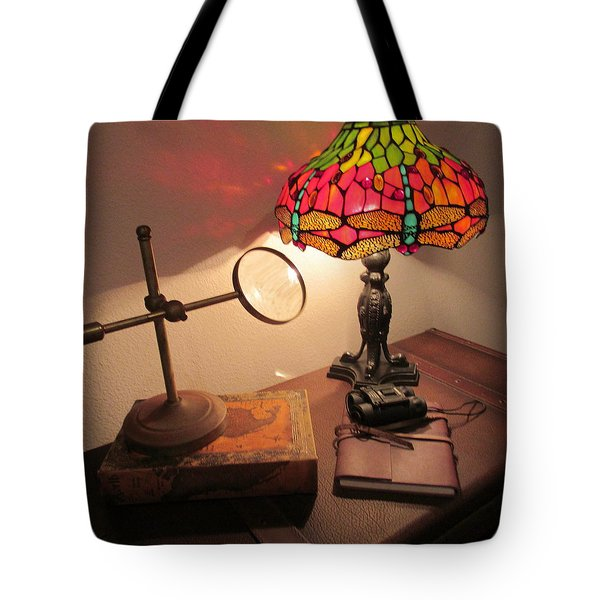 Reflections Of An Earlier Time Tote Bag