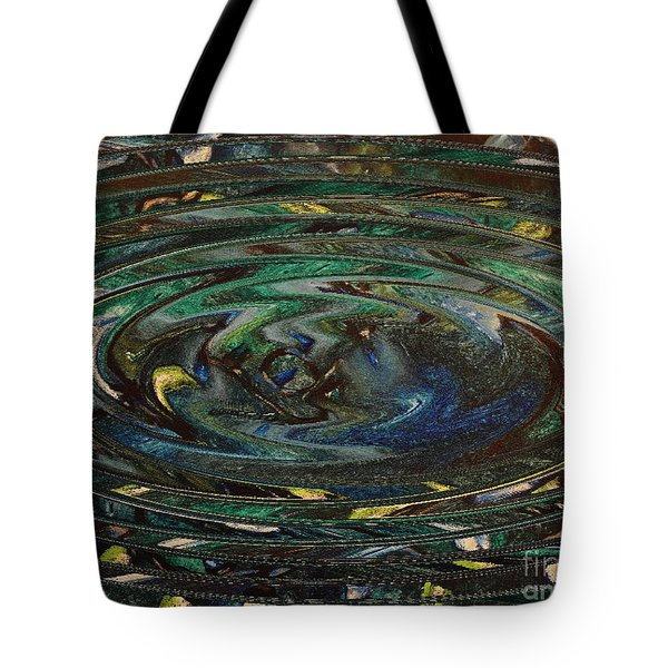 Reflections Of Christmas #3 Tote Bag by Wayne Cantrell
