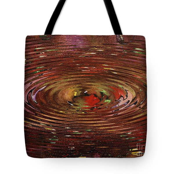 Reflections Of Christmas Tote Bag by Wayne Cantrell