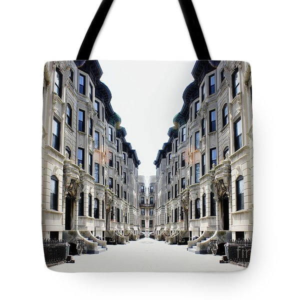 Reflections Of My Childhood Home Tote Bag