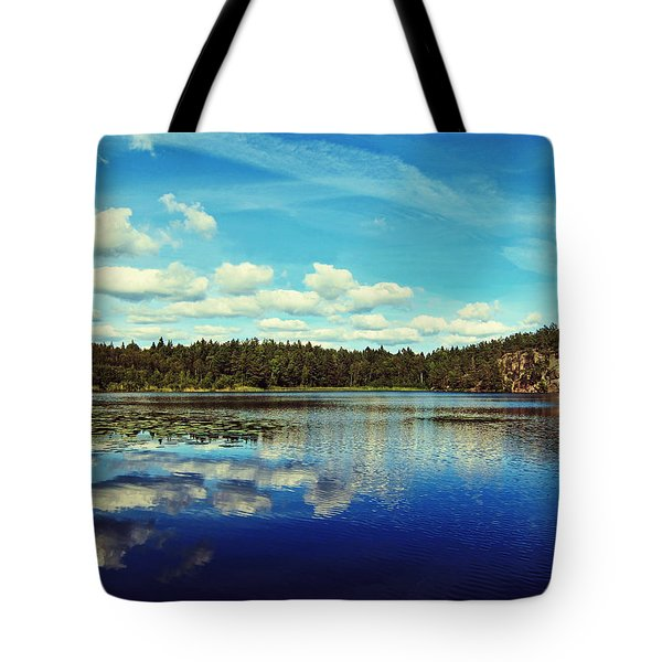 Reflections Of Nature Tote Bag by Nicklas Gustafsson
