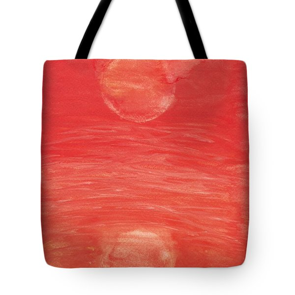 Reflections Of Pain Tote Bag