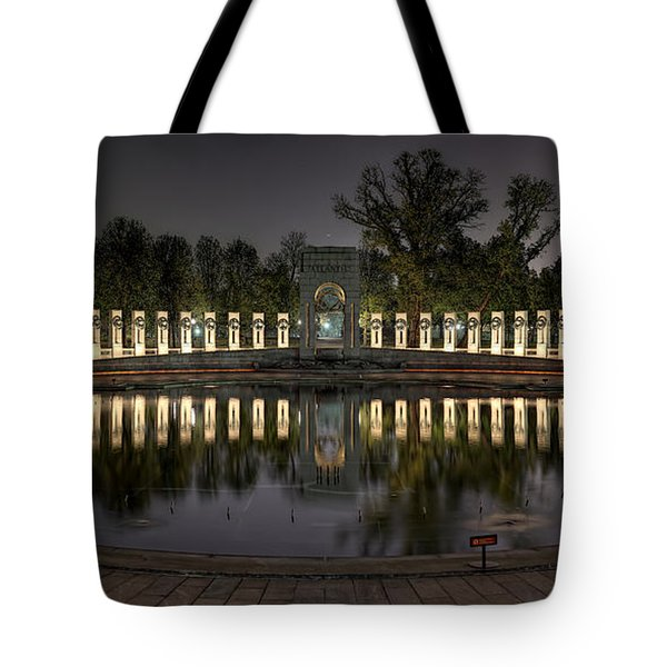Reflections Of The Atlantic Theater Tote Bag