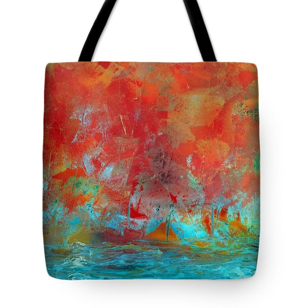 Reflections Of The Fall Tote Bag