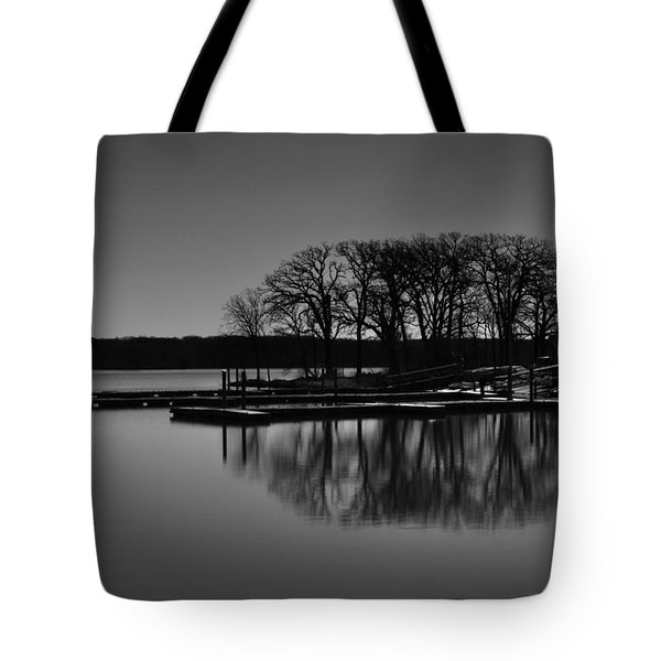 Reflections Of Water Tote Bag