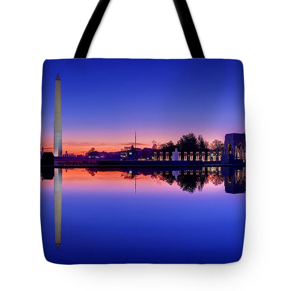 Reflections Of World War II Tote Bag