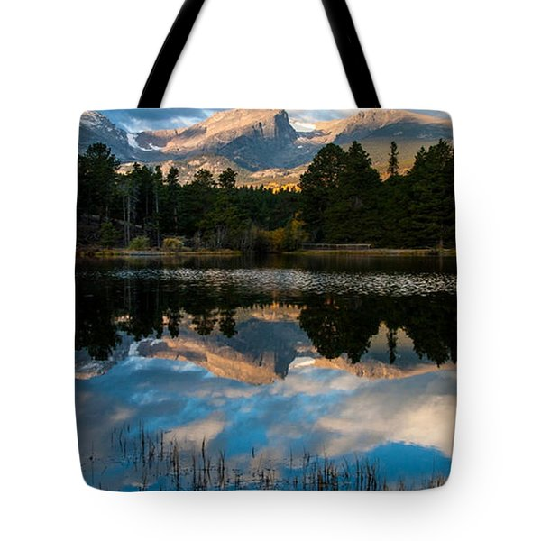 Reflections On A Lake 3 Tote Bag by Anne Rodkin