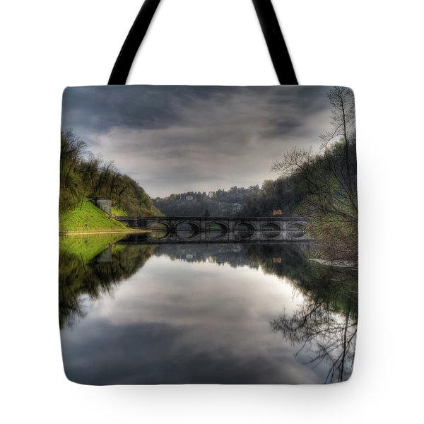 Reflections On Adda River Tote Bag