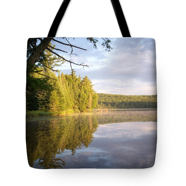 Reflections On Canisbay Lake Tote Bag