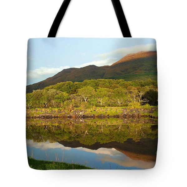Reflections On Loch Etive Tote Bag