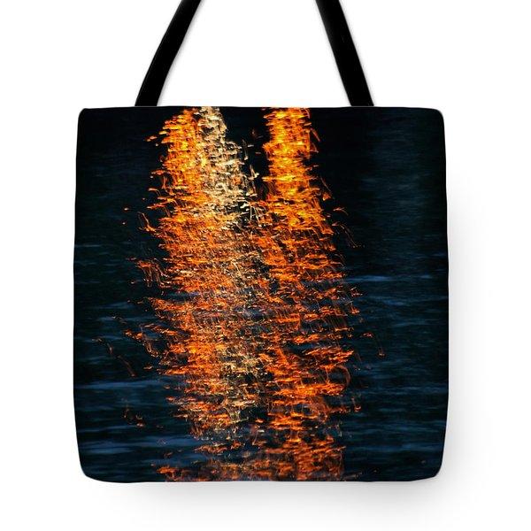 Reflections Tote Bag by Pamela Walton