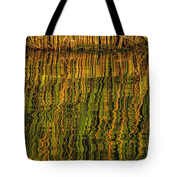 Tote Bag featuring the photograph Reflections by Rob Graham