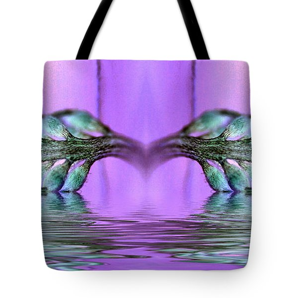 Reflective Consciousness Tote Bag by WB Johnston