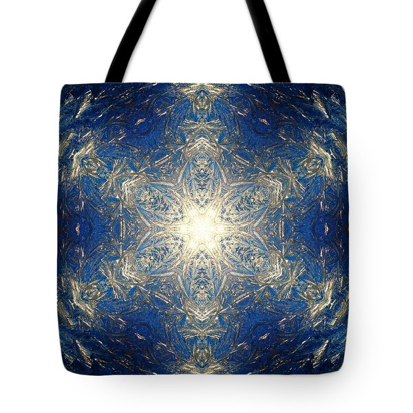 Reflective Ice I Tote Bag