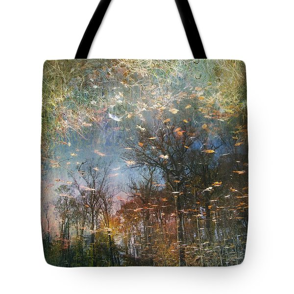 Tote Bag featuring the photograph Reflective Waters by John Rivera
