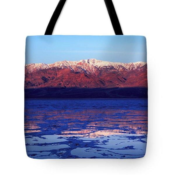 Reflex Of Bad Water Tote Bag