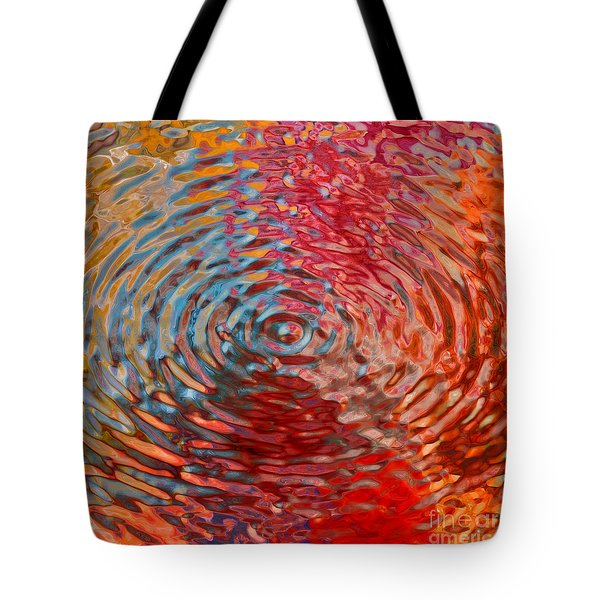 Refraction Abstraction Tote Bag