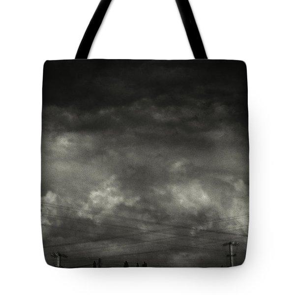 Refraction Tote Bag by Taylan Apukovska