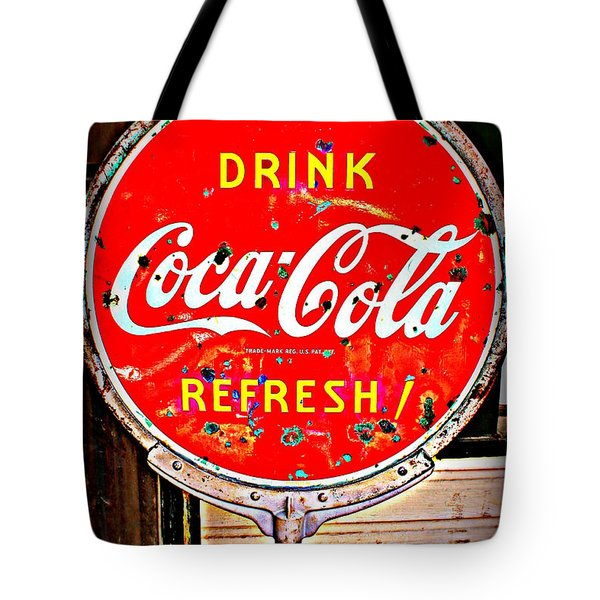 Refresh Tote Bag by Beth Vincent