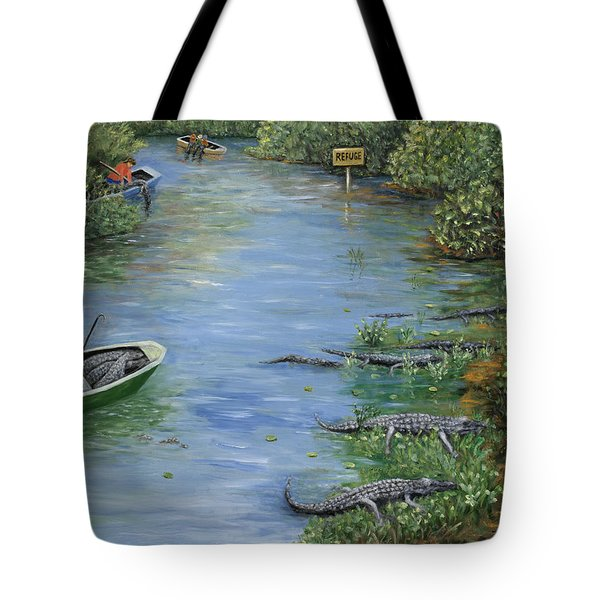 Refuge? Tote Bag