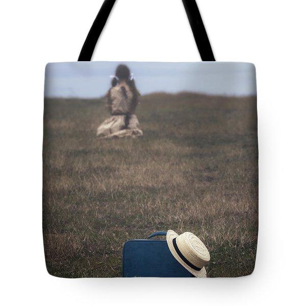 Refugee Girl Tote Bag by Joana Kruse