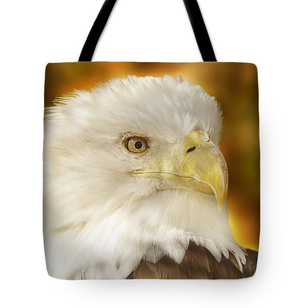 Tote Bag featuring the photograph Regal Eagle  by Brian Cross