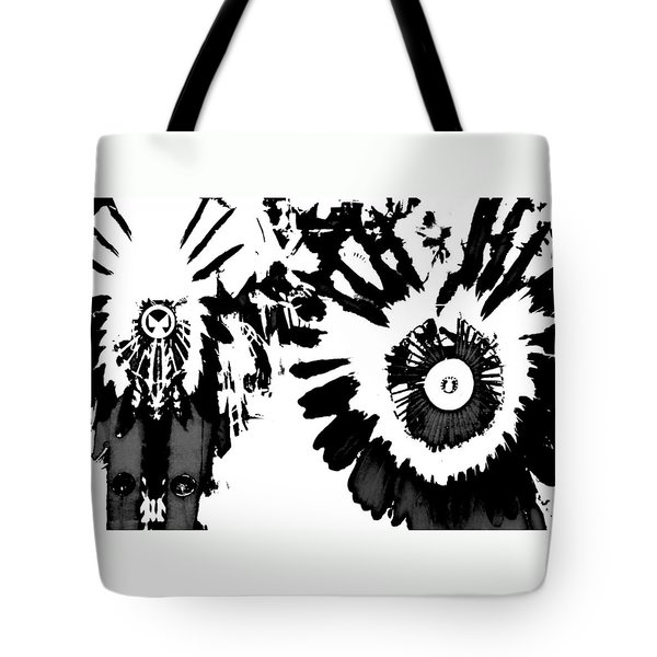 Regalia 3 Tote Bag by Clarice  Lakota