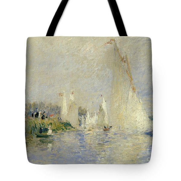 Regatta At Argenteuil Tote Bag