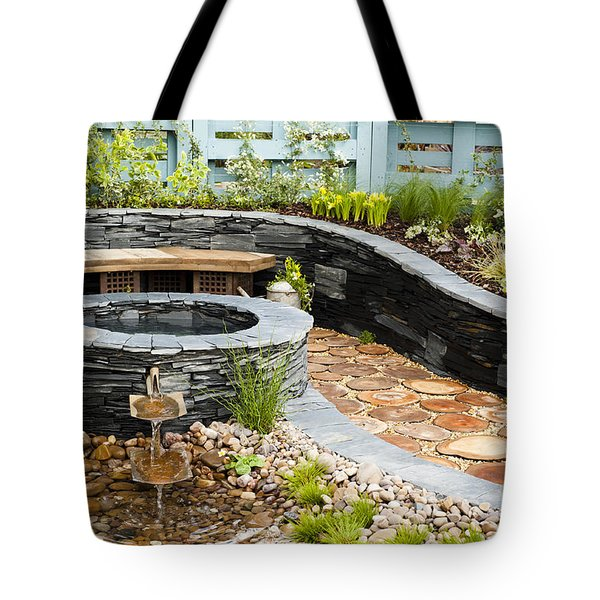 Regeneration Tote Bag by Anne Gilbert