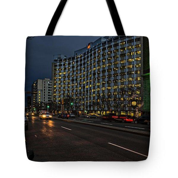 Regina At Night Tote Bag