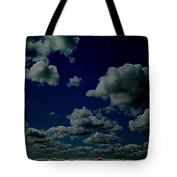 Tote Bag featuring the digital art Regret by Jeff Iverson
