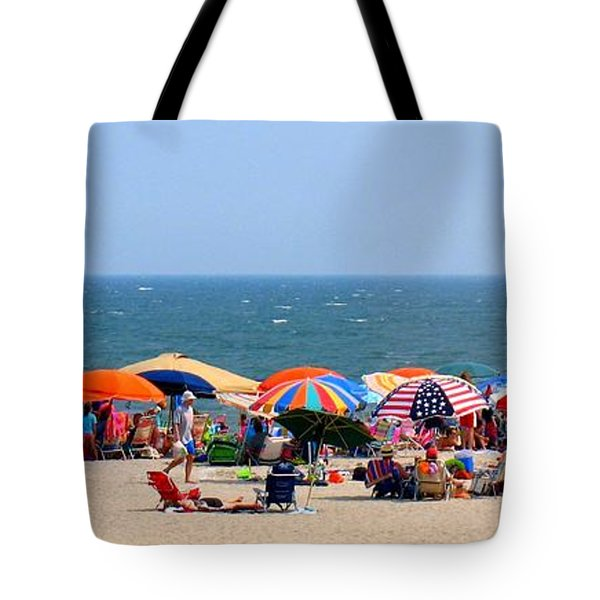 Rehobath Beach Delaware Tote Bag by Patti Whitten